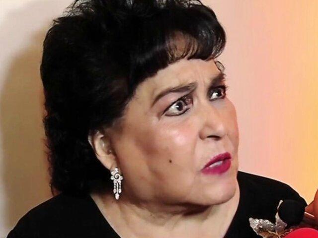 Carmen Salinas se muestra a favor de que padres golpeen a sus hijos para educarlos