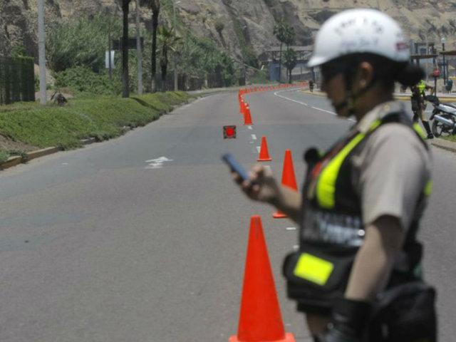 Lima 2019: Costa Verde será cerrada hoy por competencias de ciclismo