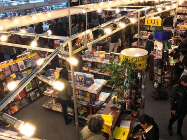 FIL Lima 2019 batió récord de asistencia y ventas de libros en su historia