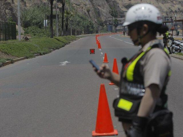 Costa Verde: se cierra acceso por simulacro de sismo