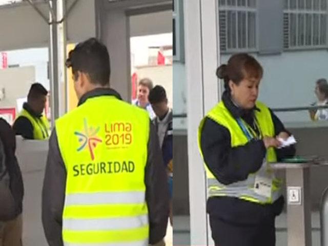 Este es el protocolo de seguridad por el que pasan los periodistas en la Videna