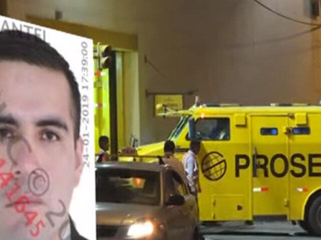 Extrabajador de Prosegur que robó 2 millones fue capturado en Argentina