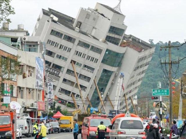 Taiwán: sismo provocó corte de luz de 10 mil viviendas
