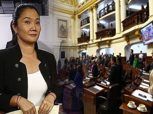 ¿Qué dijeron los congresistas tras formalización de investigación a Fuerza Popular?