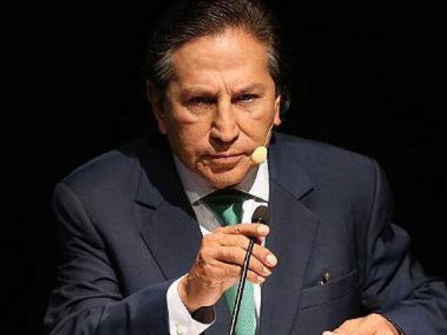 Alejandro Toledo: EEUU pide decomisar cuenta vinculada a expresidente