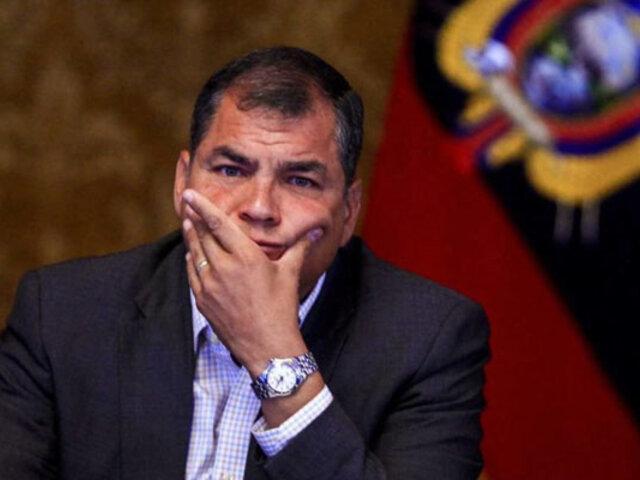 Rafael Correa: Justicia de Ecuador ordena captura del expresidente por corrupción