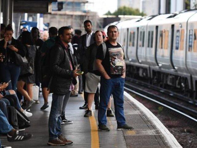 Apagón masivo en sur del Reino Unido provoca caos en el transporte en Londres