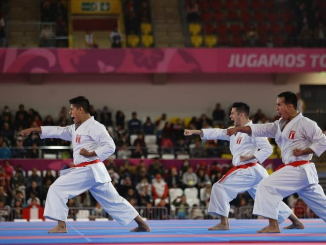 Equipo peruano de karate se lleva el oro en los Panamericanos Lima 2019