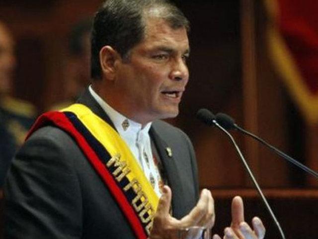 Rafael Correa sobre prisión preventiva en su contra: Todo es una gran farsa
