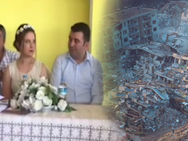 Turquía: sismo de 5.8 sorprende a pareja que estaba casándose