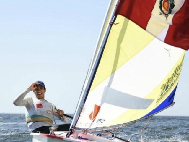 Lima 2019: Renzo Sanguinetti ganó medalla de bronce en vela