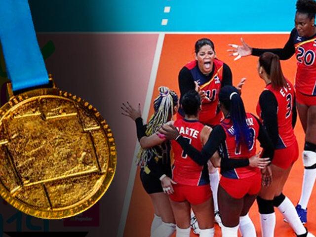 Lima 2019: República Dominicana venció 3-1 a Colombia y se llevó el oro en vóley