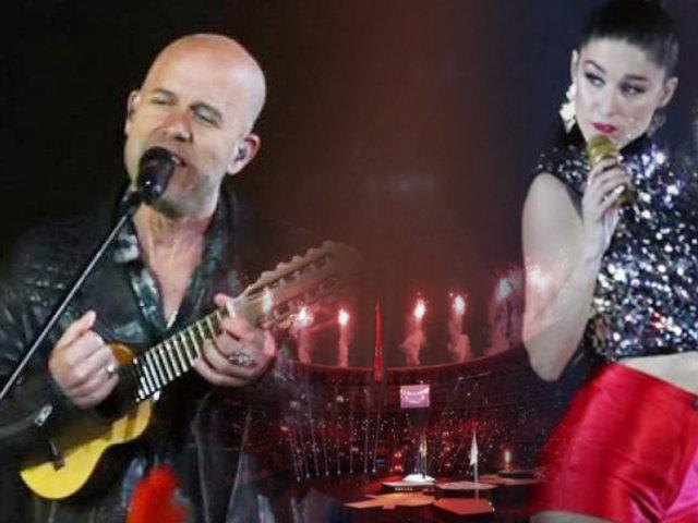 Lima 2019: Gian Marco y Francisca Valenzuela pusieron música en la Clausura de los Panamericanos