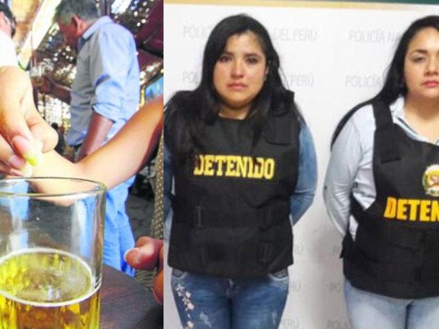 PNP detiene a cinco integrantes de la banda delincuencial 'Las babys de Tomás Valle'