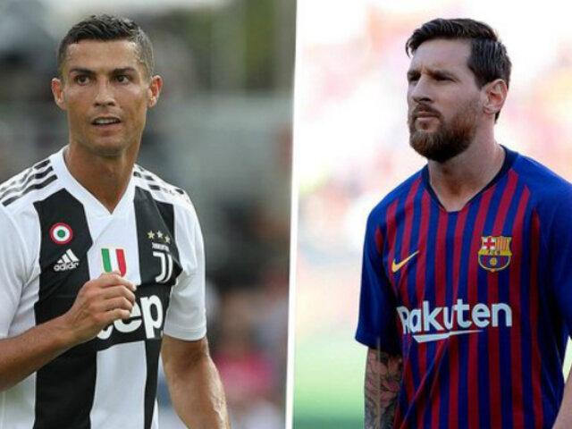 Cristiano Ronaldo explicó por qué es diferente a Lionel Messi