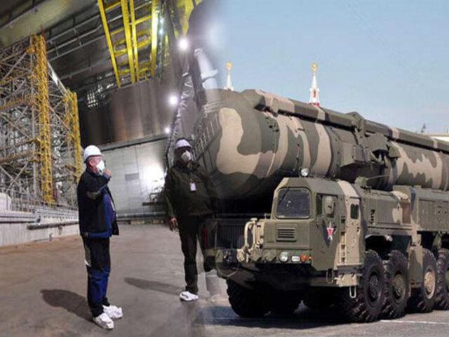 Aumento de radiación en ciudad de Rusia tras explosión de misil nuclear