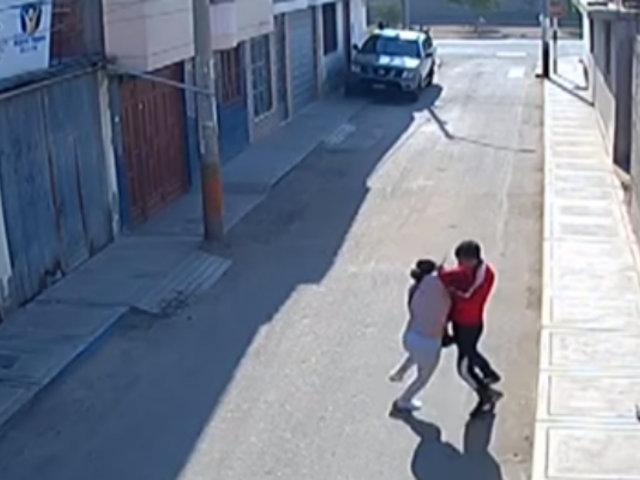 Tacna: ladrón ataca con cuchillo a mujer para robarle su cartera