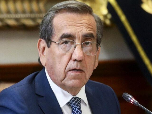Jorge del Castillo: A Vizcarra solo le queda acatar decisión del Congreso