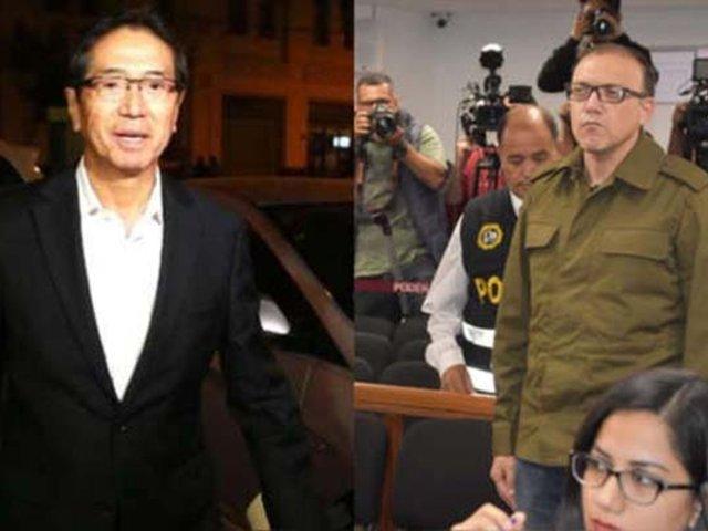 Trasladan nuevamente a  Jaime Yoshiyama y Pier Figari al penal Castro Castro
