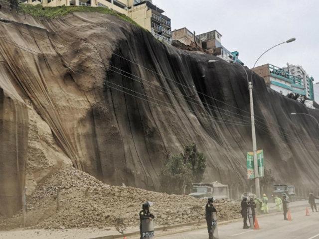 Costa Verde: realizarán estudios para decidir si viviendas ameritan o no desalojo