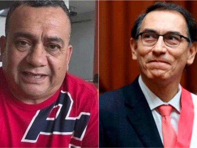 Tony Rosado insultó al presidente Martín Vizcarra durante concierto