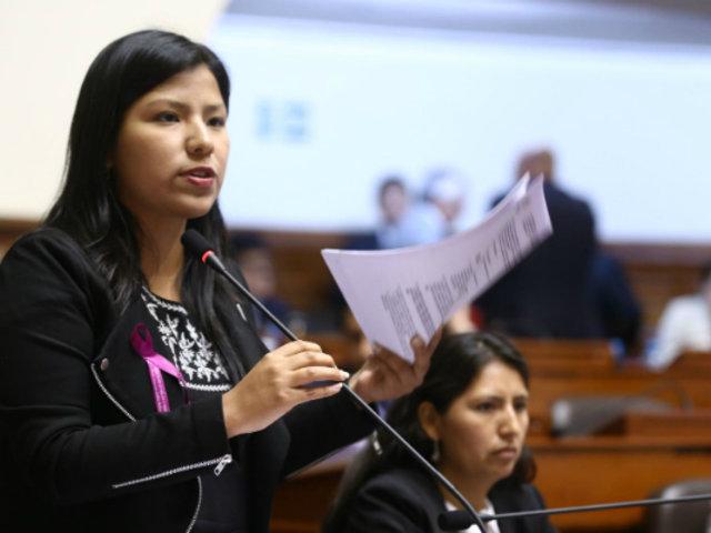 Nuevo Perú: Indira Huilca resaltó que no reelegirán en presidencias de comisiones