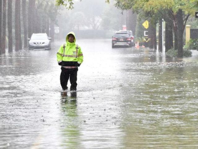 EEUU: Carolina del Norte afectada por lluvias e intensas ráfagas de viento