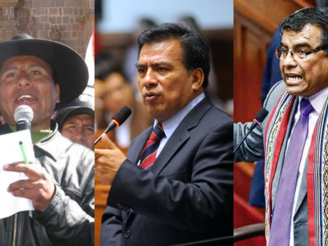 Parlamentarios opinan sobre prisión dictada a Walter Aduviri por 'Aymarazo'