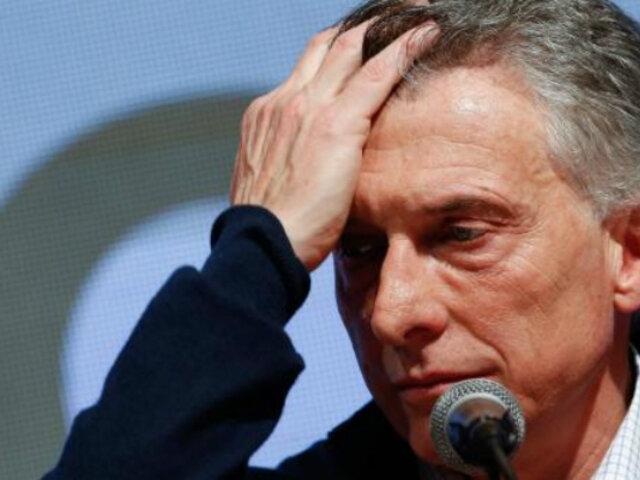 Argentina: crisis política afecta los bolsillos de los ciudadanos