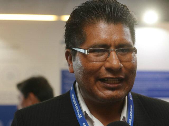 Walter Aduviri: Frente Amplio y Nuevo Perú rechazan orden de captura