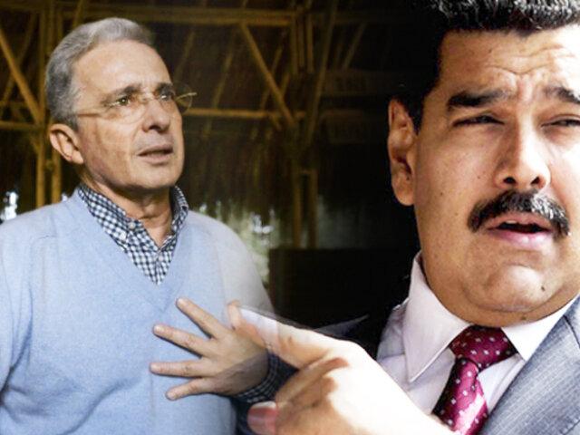 Colombia: gobierno rechazó las acusaciones de Maduro contra ex presidente Uribe