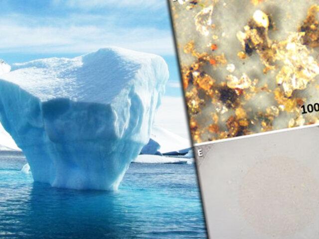 Canadá: microplásticos se están acumulando en el hielo del ártico