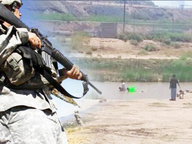 México: patrulla fronteriza dispara a bañistas en el río Bravo