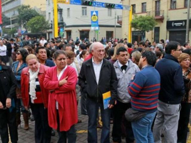 Balance simulacro Multipeligro: sismo de 8.5 dejaría más de 73 mil muertos en Lima