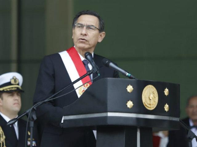 """Martín Vizcarra: """"El Perú entero demanda abrir una nueva etapa"""""""