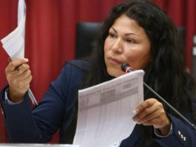 Yesenia Ponce rechazó documento que la involucra en presunto acto de corrupción