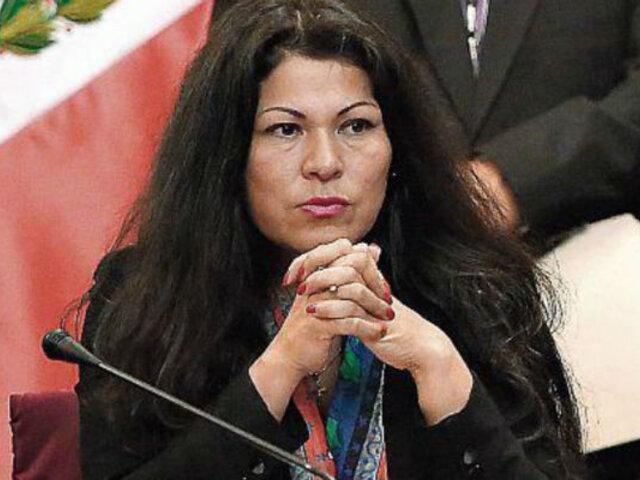 Difunden audio de Yesenia Ponce que revelaría amistad con Martín Vizcarra