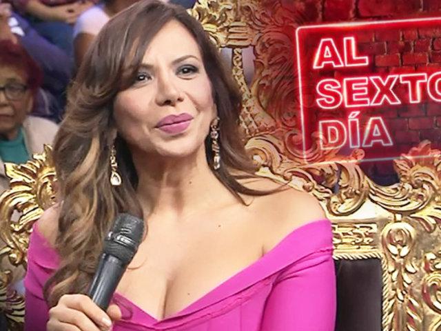 """Mónica Cabrejos en """"Porque hoy es sábado con Andrés"""""""