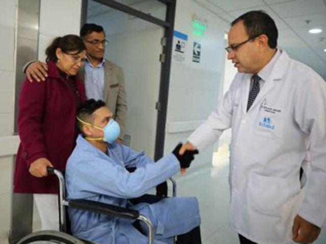 INCOR: realizan con éxito trasplante de corazón a joven odontologo