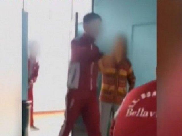 Callao: escolares son captados maltratando y amenazando a su profesora