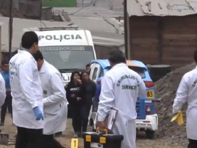 Carabayllo: padre de familia es acribillado por más de 15 sicarios