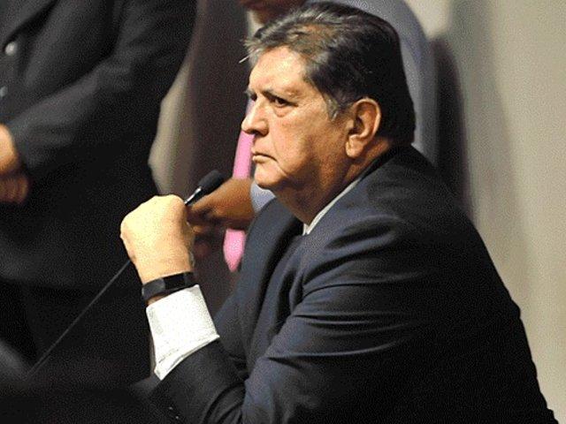 Alan García: PJ confirma resolución que negó incautación de celulares del expresidente