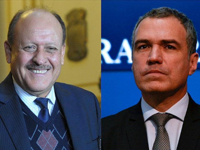 Bancada oficialista respaldó a premier Del Solar tras enfrentamiento con Aráoz