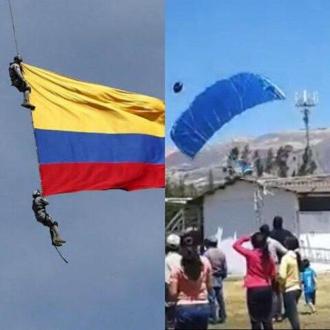 Similar prueba aérea de FAP se produjo en Colombia dejando a dos soldados muertos