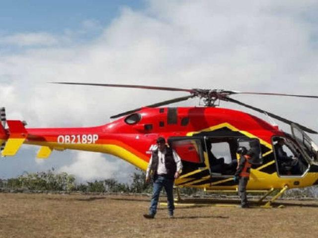 Cusco: empresa del helicóptero que aterrizó sin permiso en Choquequirao recibiría sanción