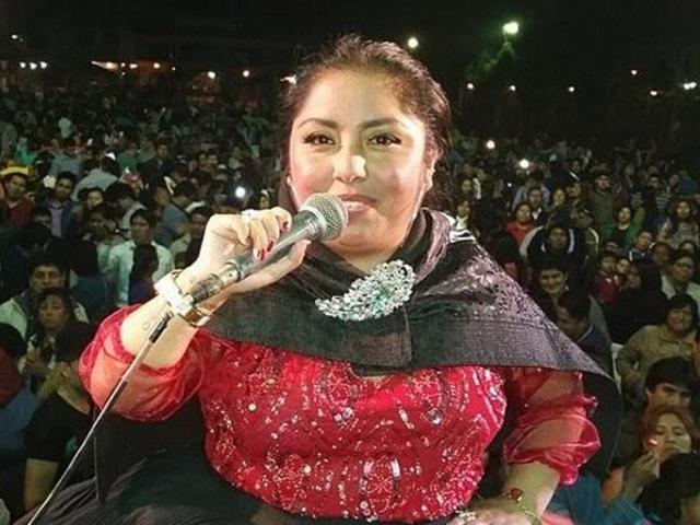 Cantante folklórica Susan del Perú sufre robo de 140 mil soles en Huancayo