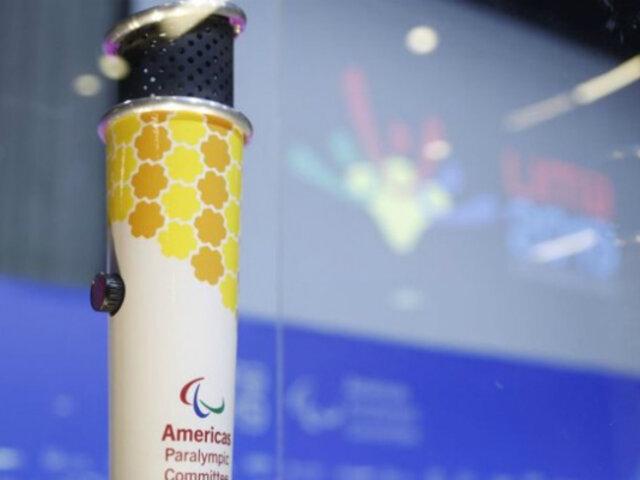 Juegos Parapanamericanos: antorcha recorre principales calles de la ciudad
