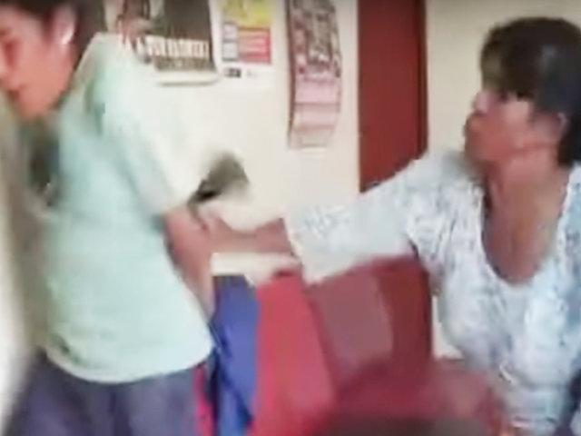 Huancayo: mujer agarró a zapatazos a delincuente que le robó celular