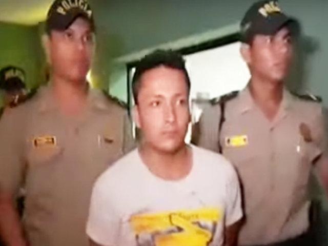 Tarapoto: hombre asesinó a su pareja y luego se entregó a la policía