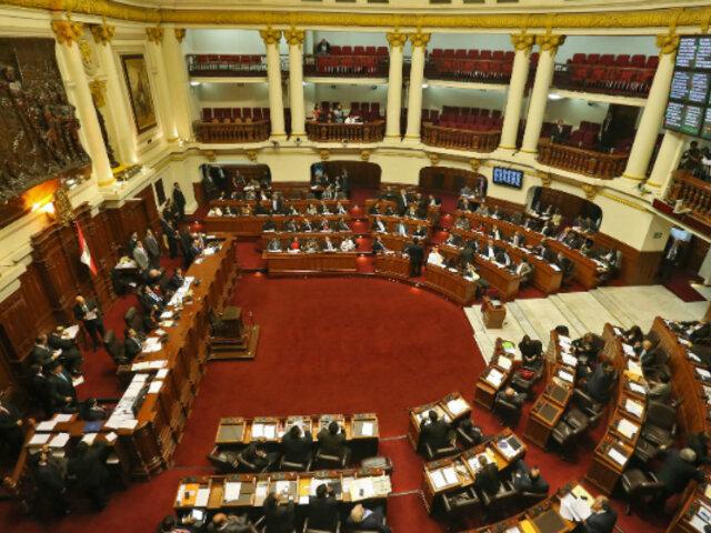 Congreso convoca a Pleno Ético para resolver caso de Salaverry y otros parlamentarios